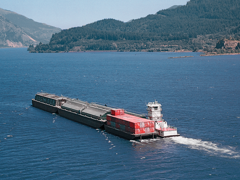 Barge-Rail shuttle service provides shipping relief – Port