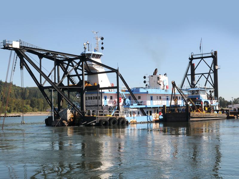 Dredge Oregon Completes Dredge Season – Port Dispatch – Port
