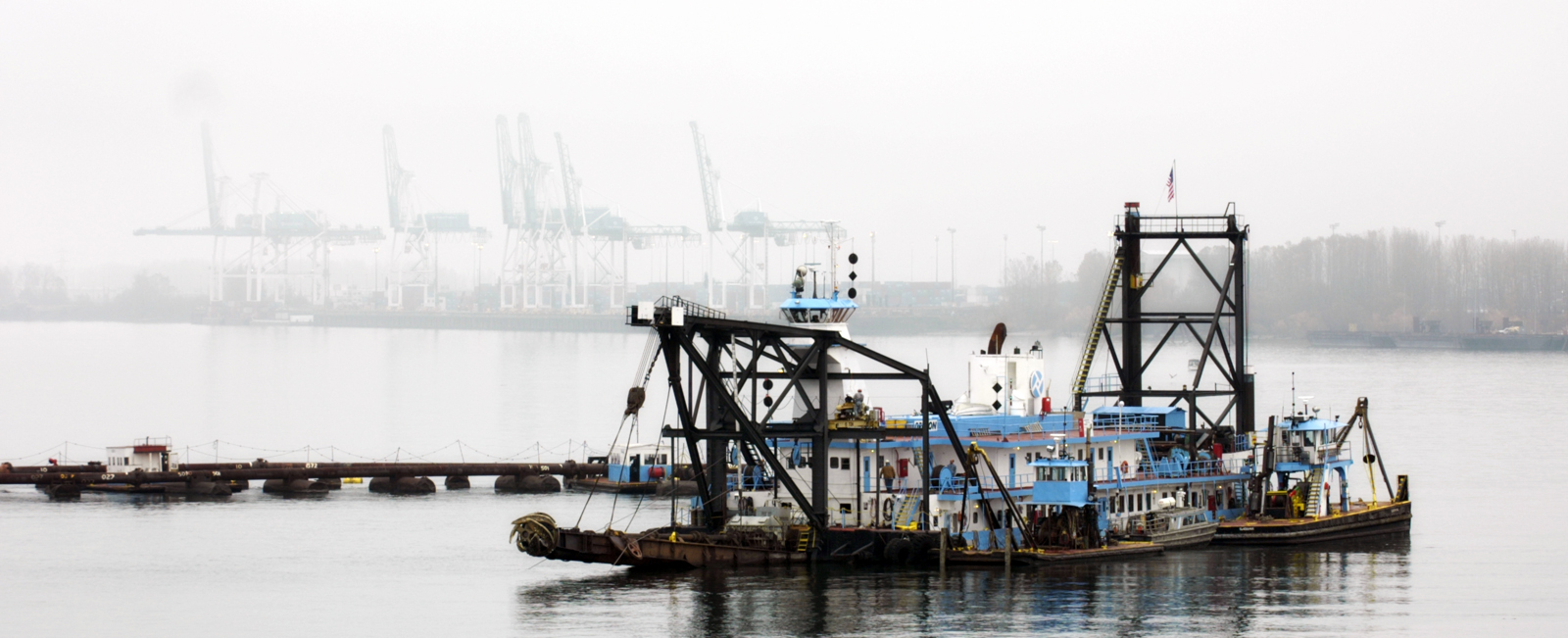 Dredge Oregon Underway for 2016 Season