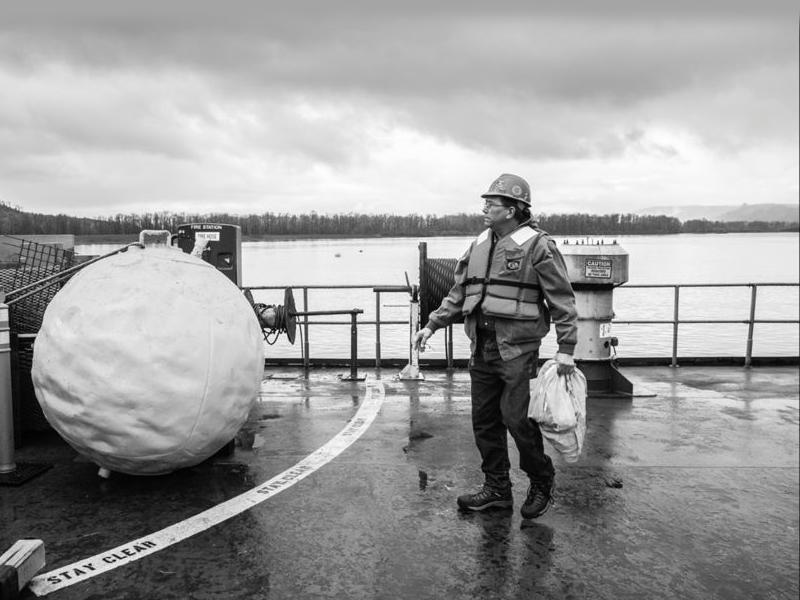 """Dredge Captain Mark Stilwell """"Oregon at Work"""""""